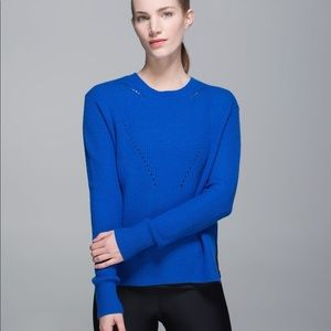 lululemon Seva Blue sweater